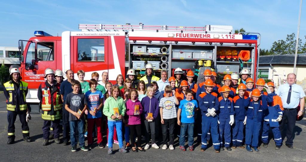 20130830 Übung JF Schule Nachtsheim