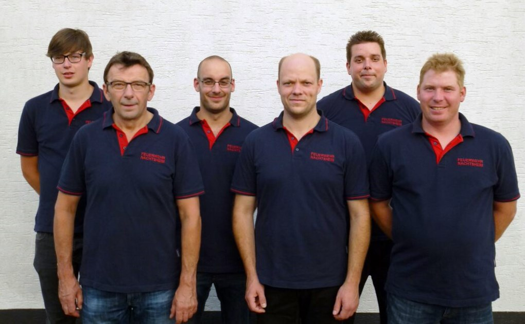Der neue Vorstand (v.l.n.r.: Carsten Leu, Robert Dedenbach, Daniel Hoffmann, Marco Schüller, Stephan Haupt, Thomas Nett)