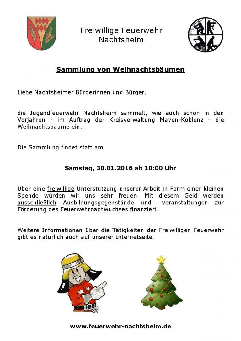 20160130 Weihnachtsbaumsammlung